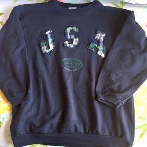 VINTAGE USA Sweatshirt Size Large